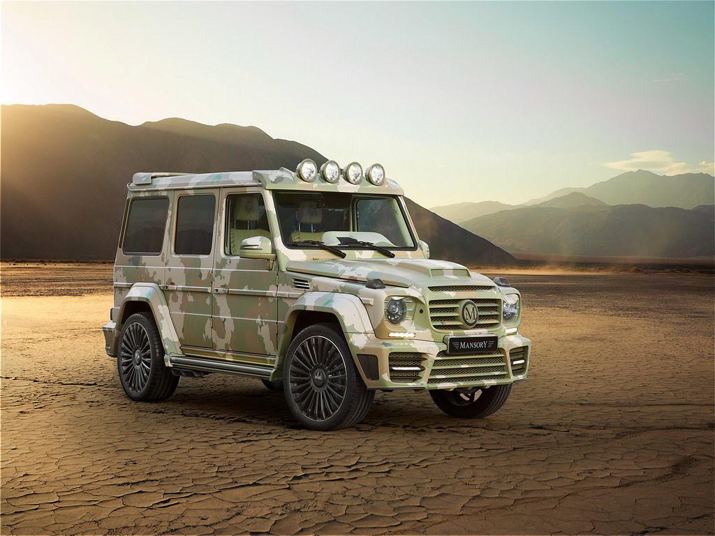 Бездарная реализация тюнинга Mercedes-Benz G63 AMG – в версии Sahara Edition