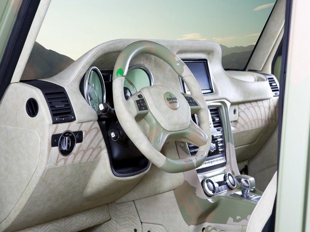 Аксессуары, Обвес и Тюнинг Toyota Land Cruiser 200 не нужны для тюнинга G63