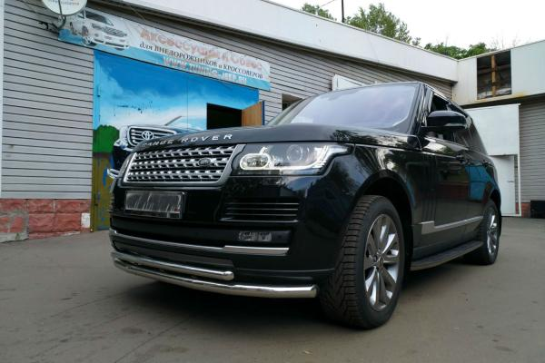 Обвес на Range Rover Vogue
